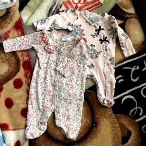 Laura ashley and baby Gap bodysuit